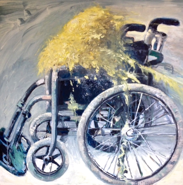 Wheelchair 1m x 1.20m oil/canvas xes4R1480674641.jpg